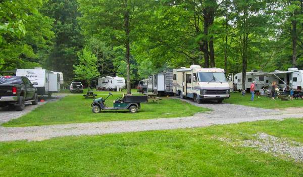 Main image on the Seasonal Camping panel